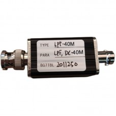 RF Low Pass Filter LPF Filter With BNC Connector 40M For RF Ham Radio Uses DIY Enthusiasts