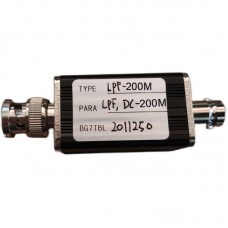 RF Low Pass Filter LPF Filter With BNC Connector 200M For RF Ham Radio Uses DIY Enthusiasts