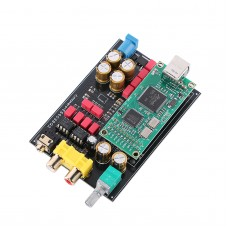 Headphone Amplifier DAC DSD ES9038 Sound Card USB DAC Board With USB Interface For Amanero