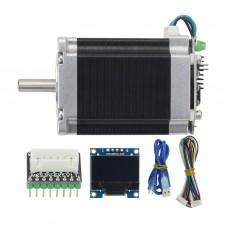 57 Closed Loop Stepper Motor Set MKS SERVO57A Servo Motor with Adapter Board Display For 3D Printer