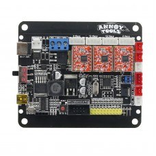 CNC 3 Axis Control Board Version 4.0 GRBL Support 2P/3P Laser PWM TTL for Engraving Machine