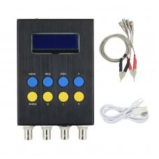 Digital LCR Bridge Tester Resistance Inductance Capacitance Meter ESR Test Kit Built-in Battery Version