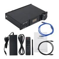 DA-2120C 120W+120W Bluetooth 5.0 DAC USB HiFi Power Amp Digital Power Amplifier with OLED Display