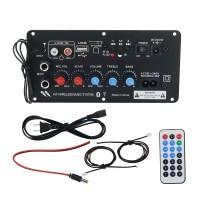 BLS-K680 Bluetooth Amplifier Subwoofer 220V 12V 24V Home Car Amplifier Power Amp Board Peak 400W