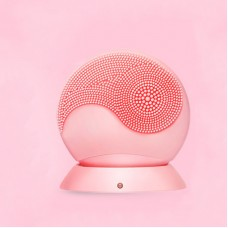 Ultrasonic Silicone Facial Cleanser Waterproof Deep Pore Cleanser Tool Wireless Charging X003