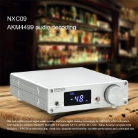 NXC09 AK4499 Digital Audio Decoder Bluetooth 5.0 Headphone Amplifier DAC DSD512 CSR8675 For LDAC