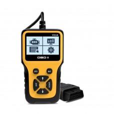 V311A Handheld OBDII Scanner Car Diagnostic Scanner Tool OBD2 Fault Code Reader w/ LCD Display
