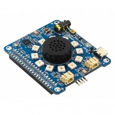 Raspi Voice HAT Dual Microphone Expansion Board For AI Voice Applications For Raspberry Pi 4B