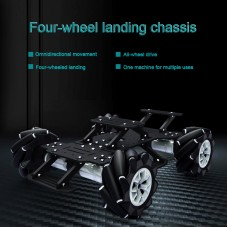 4WD RC Car Mecanum Car 370 Encoder Motor Changeable Version Without Battery Electronic Control