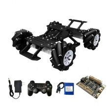 4WD RC Car Mecanum Car 370 Encoder Motor Changeable Version With Electronic Control Kit