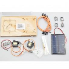Intelligent Solar Tracking Equipment DIY Programming Toys For Arduino (Frame + Servos + Solar Panel)