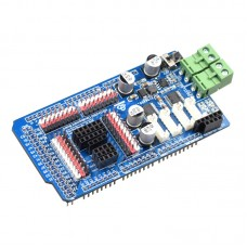 4-Channel DC Motor Driver Board For MEGA2560 Mecanum Wheel Smart Robot Arm Car Expansion Board