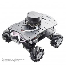 Unassembled ROS Robot Smart Car Chassis Mecanum Wheel Car With Lidar Navigation For Raspberry Pi