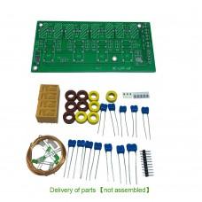 XF-LPF-HF Shortwave HF Low Pass Filter LPF Kit Unassembled For DIY Applications Shortwave Radios