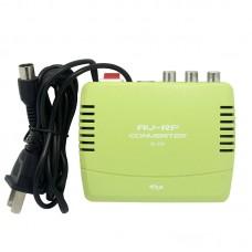 Seebest SB-200 AV To RF Converter TV Signal Modulator For Black And White TV Retro Game Console