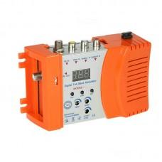 Seebest M69 RF Modulator Digital Full Band Modulator Video TV Converter VHF UHF Signal Amplifier