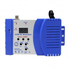 Seebest HDM68 HDMI RF Modulator One-Way HDMI To RF Converter 96 Adjustable Output Frequencies