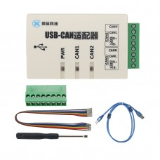 USB to CAN Converter Adapter Dual-channel CAN Interface Card USB-CAN-2A