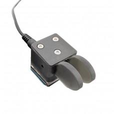 QU-2020 Mini Dual Paddle Key Morse Key CW Key Automatic Base Magnetic Adsorption For Shortwave Radio