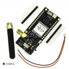 "LoRa32 V2.1 433MHz ESP32 LoRa OLED 0.96"" Wireless WIFI Bluetooth Module SMA IP5306 Support SD Card"