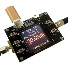 DC-3GHZ 90DB CNC Attenuator Module 0.5DB Stepping Support Host Computer TTL Serial Communications