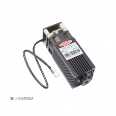 15W Engraving Laser Module 450NM Blue Laser Module Adjustable Focus High Power Laser Head