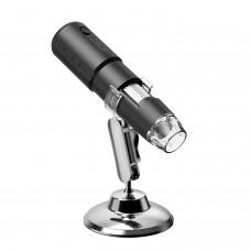 Inskam314 50-1000X 0.3MP WiFi Microscope Portable Microscope 5M Wireless Connection 360° Base