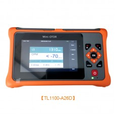 TL1100-A26D 1310/1550NM 26/24DB OTDR Tester Optical Time Domain Reflectometer OPM For Optic Fiber