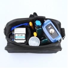 KLS-01 Fiber Optic FTTH Tool Kit FTTH Tools Set With Optical Power Meter Red Light Pen Fiber Cleaver