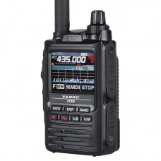 For YAESU FT3DR Bluetooth Walkie Talkie Handheld Transceiver Full Color Touch Screen GPS Recording
