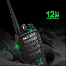 LYT-950 12W Walkie Talkie 400-480MHz Handheld Transceiver Hotel Security Intercom Call Encryption