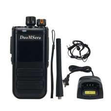 DMS-S618 15W Handheld Walkie Talkie High-Power Two Way Radio 3-15KM For Construction Sites Drivers