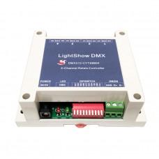 LightShow DMX 4-Channel Relay Switch Controller DC 5V DMX512 Suitable For KTV Bars Entertainment