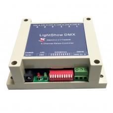 LightShow DMX 6-Channel Relay Switch Controller DC 5V DMX512 Suitable For KTV Bars Entertainment