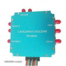 LMX2595 Frequency Synthesizer Module Aluminum Alloy PLL 10M-20GHz HF Microwave Signal Generator