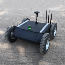 ROVER-V3.3 GPS Navigation Car Security Patrol Load 30KG Unmanned Vehicle Chassis For ROS Ardupilot