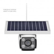 2MP Outdoor Solar Camera Household Wireless Solar Security Camera 4G Version For 4G SIM Card