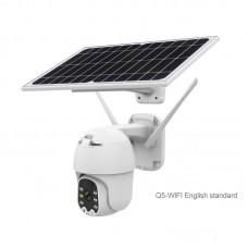 Outdoor Dome Camera PTZ Security Camera 2MP Solar Camera Wireless Security Camera Q5-WiFi Version