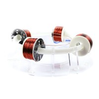 Ring Accelerator 4-Coil Version Unassembled Magnet Scientific Experiment Creative High-Tech Toy Kit