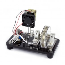 Single-Coil Electromagnet Reciprocating Motor Unassembled Electronic Production Kit DIY Parts