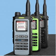 8600 Professional Dual Band Walkie Talkie Two Way Radio Transceiver For Outdoor Drivers USB Charging