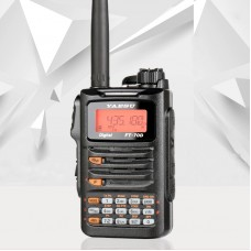 For Yaesu FT-70DR Dual Band Walkie Talkie Two Way Radio 5W Handheld Transceiver IP54 Covers 1.5-3KM