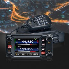 For Yaesu FTM-400XDR Car Dual Band Transceiver Mobile Radio 50W Communications Distance Over 10KM