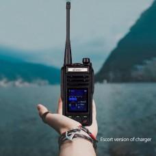 VR-N75 IP67 Walkie Talkie Two Way Radio GPS Display Position w/ Normal Battery Desktop Charger