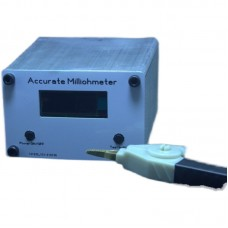 High-Precision Resistance Tester Milliohm Meter Accurate Milliohmmeter USB Charging With OLED 128*32