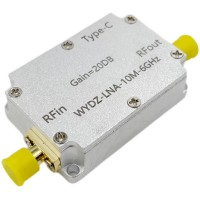 10M-6GHz Low Noise Amplifier Gain 20DB High Flatness LNA RF Signal Driving Receiver Front End