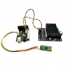 For Arduino Controller + Bluetooth Module + High Power Motor Driver Board For RC Robot Tank Car
