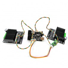 For Arduino Controller + Bluetooth Module + 2pcs High Power Motor Driver Board For RC Robot Tank Car