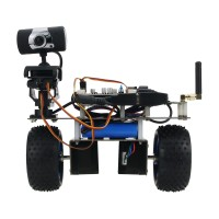 STM32 2WD Self Balancing Robot Car 2-DOF PTZ for Android iOS PC Standard Version (WiFi)