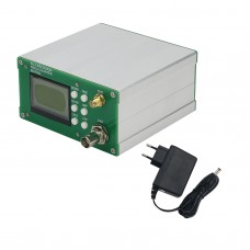 1Hz-12.4GHz Frequency Counter Frequency Meter 11Bit/Sec 10MHz OCXO w/ Power Adapter FA-2-12.4G PLUS